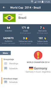 screenshot of World Cup 2018 App - Yeah - Soccer version 2.2.3