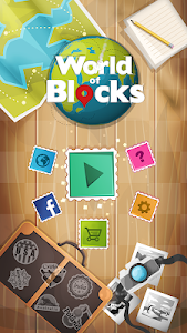 screenshot of World of Blocks - pop cubes and blocks version 1.1.10