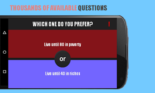 screenshot of Would You Rather? version 1.0.28
