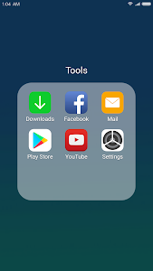 screenshot of X Launcher: With OS11 Style Theme & Control Center version 2.3.1