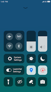 screenshot of X Launcher: With OS12 Style Theme & Control Center version Varies with device