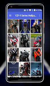 screenshot of YZF-R Series Wallpaper version 1.3