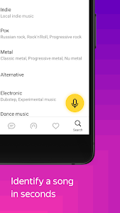 screenshot of Yandex Music — download your Playlist of the Day! version Varies with device