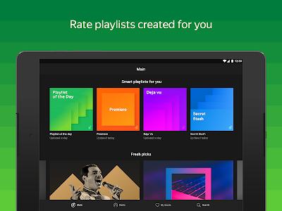 screenshot of Yandex Music — listen and download version 2019.06.2 #3201
