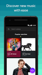screenshot of Yandex Music and podcasts — listen and download version Varies with device