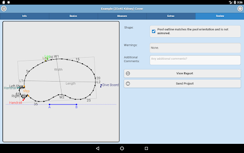 screenshot of Yard Guard Mobile version Varies with device