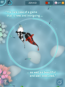 screenshot of Zen Koi - Breed & Collect Fish version 1.3.1
