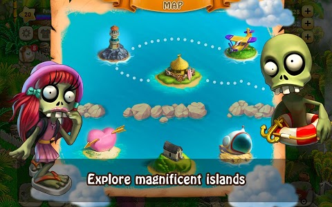 screenshot of Zombie Castaways version 4.7.1