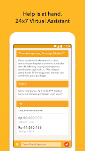 screenshot of digibank by DBS version 1.2.38