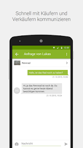screenshot of eBay Kleinanzeigen for Germany version 6.9.3