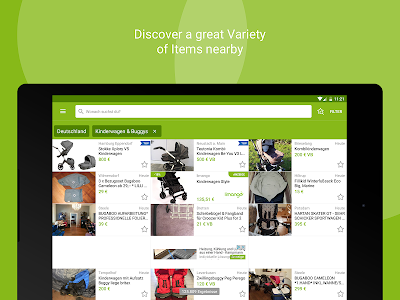 screenshot of eBay Kleinanzeigen for Germany version 7.5.0