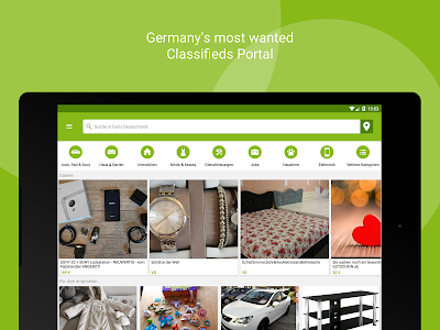 screenshot of eBay Kleinanzeigen for Germany version 7.6.0
