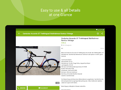 screenshot of eBay Kleinanzeigen for Germany version 7.8.0