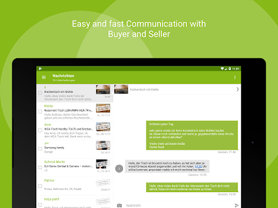 screenshot of eBay Kleinanzeigen for Germany version 8.1.1