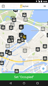screenshot of mytaxi App for Taxi Drivers version 7.11.1
