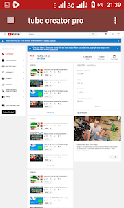 screenshot of Youtuber pro version 3.1